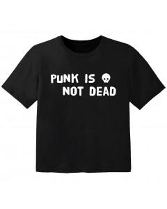 T-shirt Punk Enfant punk is not dead