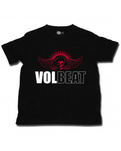 Volbeat t-shirt Enfant Skullwing Metal-Kids