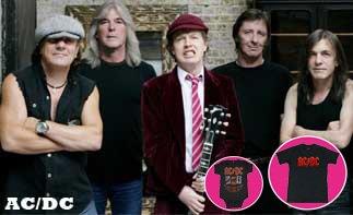 AC/DC vêtement bébé rock