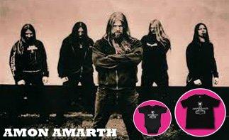 Amon Amarth vêtement bébé rock