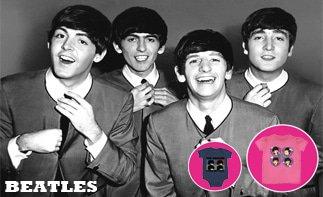 Beatles vêtement bébé rock