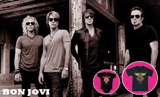 Bon Jovi vêtement bébé rock