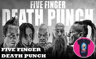 Five Finger Death Punch vêtement bébé rock