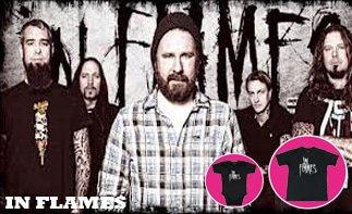 In Flames vêtement bébé rock