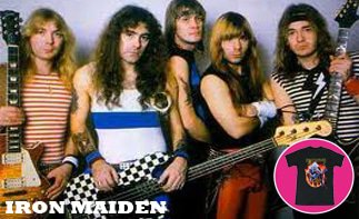 Iron Maiden vêtement bébé rock
