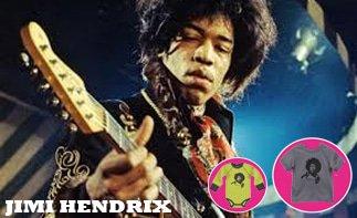 jimi Hendrix vêtement bébé rock