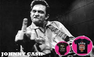 Johnny Cash vêtement bébé rock