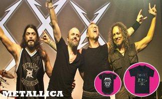 Metallica vêtement bébé rock