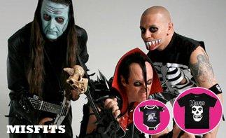 Misfits vêtement bébé rock