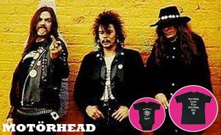 Motörhead vêtement bébé rock