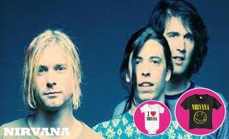 Nirvana vêtement bébé rock