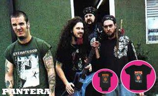 Pantera vêtement bébé rock