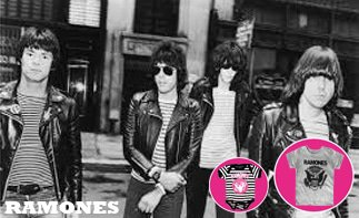 Ramones vêtement bébé rock