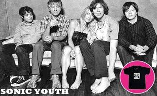 Sonic Youth vêtement bébé rock