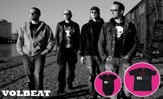 Volbeat vêtement bébé rock